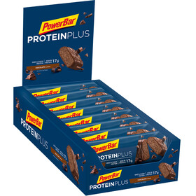 PowerBar Protein Plus 30% Sport Ernæring Chocolate 15 x 55g